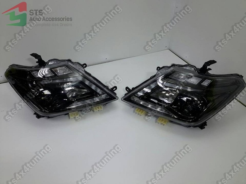 2016 Nismo Style Dayline Projector Head Lights Lamps Nissan Patrol